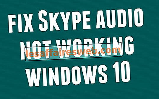 Correction de Skype Audio ne fonctionnant pas sous Windows 10