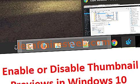 Aktivieren oder Deaktivieren der Miniaturansichten in Windows 10