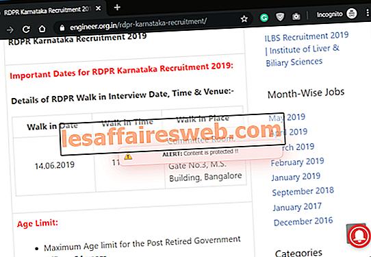 Comment copier à partir de sites Web désactivés avec le bouton droit