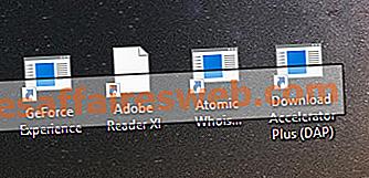 Correggi le icone senza la loro immagine specializzata