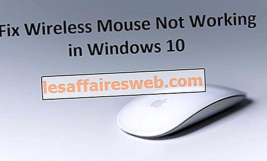 Betulkan Tetikus Tanpa Wayar Tidak Bekerja di Windows 10
