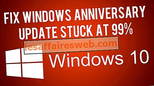 Windows 10 업그레이드 도우미가 99 %에서 멈추는 문제 수정