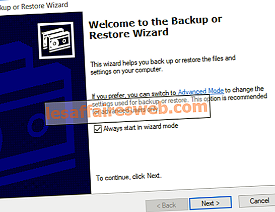 Cara Mengembalikan File BKF NTBackup pada Windows 10