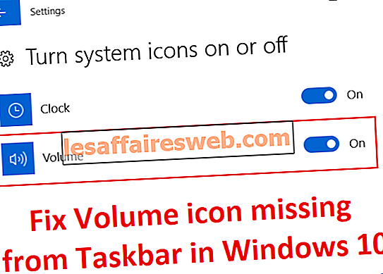 Fix Volume-Symbol fehlt in der Taskleiste in Windows 10