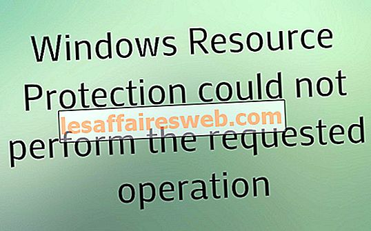 Windowsリソース保護は要求された操作を実行できませんでした