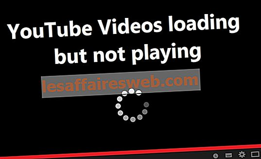 Das Laden von YouTube-Videos, aber das Abspielen von Videos wurde korrigiert