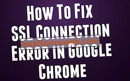 Come correggere l'errore di connessione SSL in Google Chrome