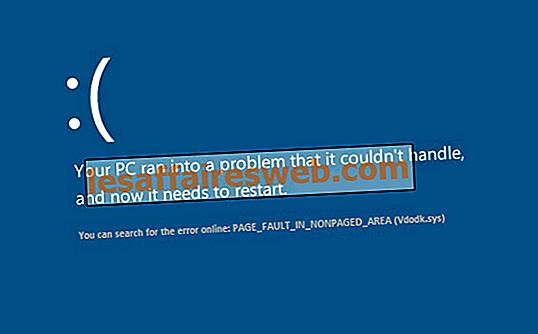 Åtgärda sidfel i felsökat område i Windows 10