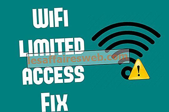 Comment résoudre les problèmes d'accès limité ou de connectivité WiFi