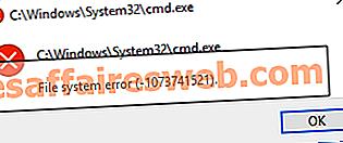 Cara Memperbaiki Kesalahan Sistem File pada Windows 10