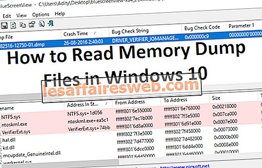 Bagaimana Membaca Fail Dump Memory dalam Windows 10