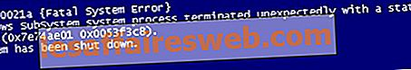 Correction de l'erreur BSOD 0xc000021a dans Windows 10