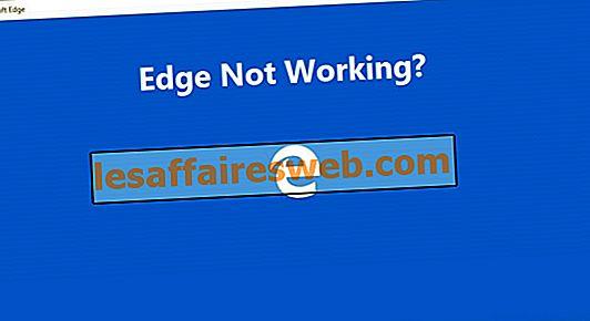 Microsoft EdgeがWindows 10で機能しない問題を修正