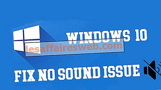 8 façons de réparer aucun son sur Windows 10