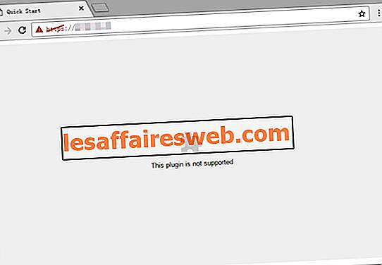 Perbaiki Plugin Ini Bukan Kesalahan yang Didukung di Chrome