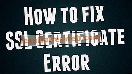 Comment réparer l'erreur de certificat SSL dans Google Chrome