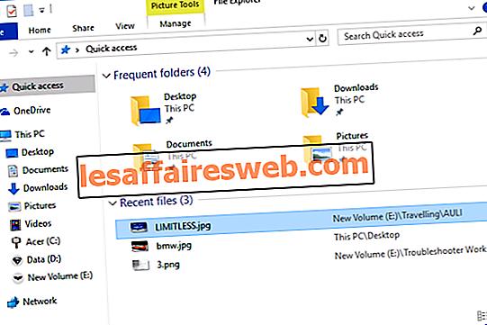 Bersihkan File Explorer, Riwayat File Terakhir di Windows 10