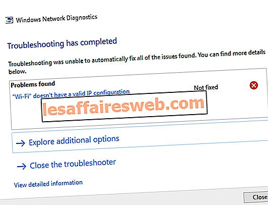 WiFi не имеет допустимой ошибки конфигурации IP?  10 способов исправить это!