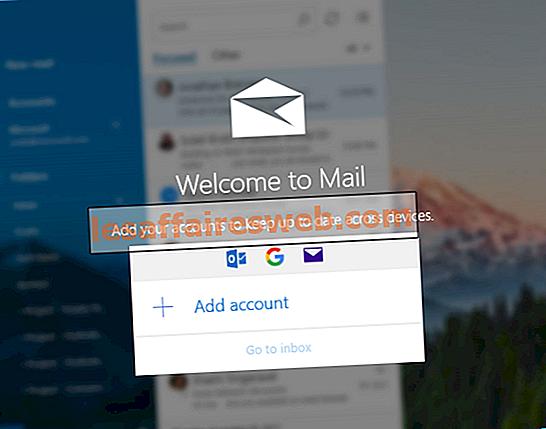 Windows 10でGmailを設定する方法