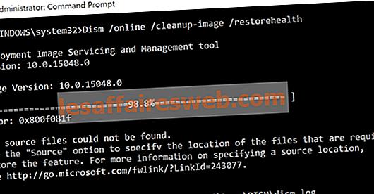 Perbaiki File Sumber DISM Tidak Dapat Ditemukan Kesalahan