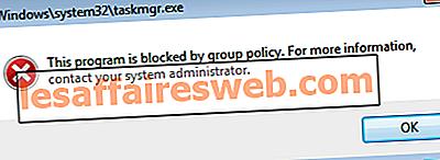 Dieses Programm wird durch Gruppenrichtlinien blockiert