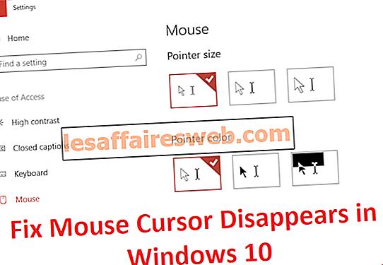4 Cara untuk Memperbaiki Kursor Mouse Menghilang