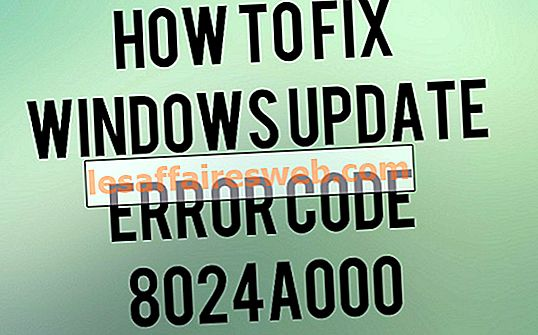 Correction du code d'erreur 8024A000 de Windows Update