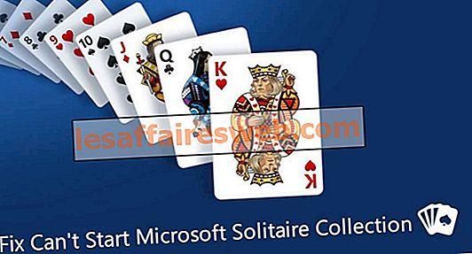 Perbaiki Tidak Dapat Memulai Koleksi Microsoft Solitaire