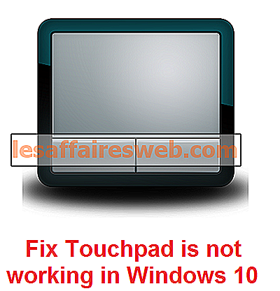 Touchpad tidak berfungsi di Windows 10