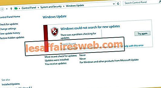 Perbaiki Kesalahan Pembaruan Windows 0x8024a000