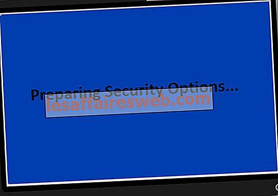 Betulkan Windows 10 Terperangkap dalam Menyediakan Pilihan Keselamatan