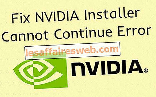 NVIDIA Installer Fehler kann nicht fortgesetzt werden