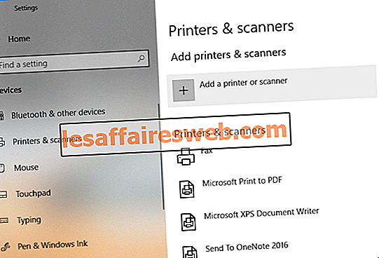Добавить принтер в Windows 10