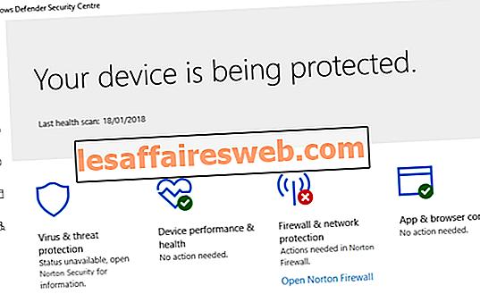 Correzione Impossibile attivare Windows Defender Firewall