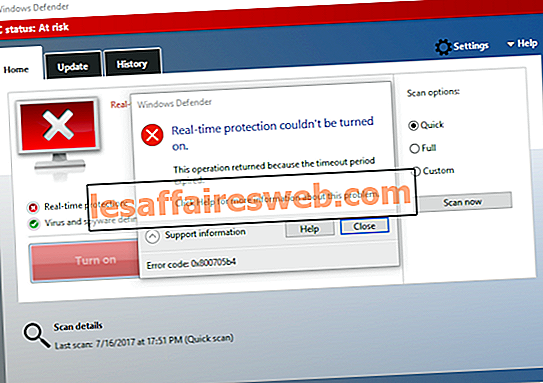 Fix Windows Defender ne démarre pas