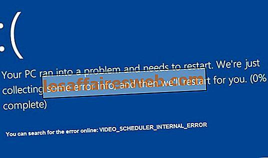 Fixa Internt fel i videoplaneraren