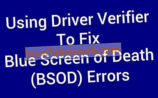 Utilizzo di Driver Verifier per correggere gli errori Blue Screen of Death (BSOD)