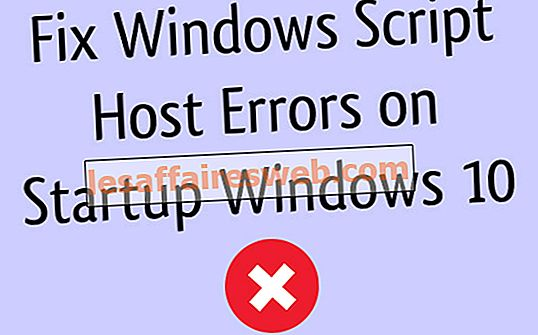 Perbaiki Kesalahan Host Script Windows pada Startup Windows 10