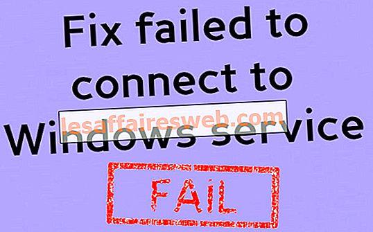 Verbindung zum Windows-Dienst fehlgeschlagen