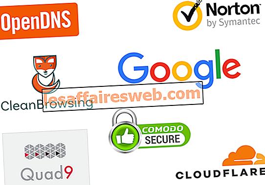 10 Pelayan DNS Awam Terbaik pada tahun 2020: Perbandingan & Kajian