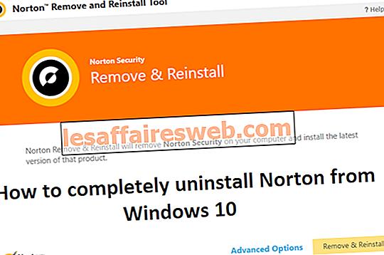 Windows 10에서 Norton을 완전히 제거하는 방법