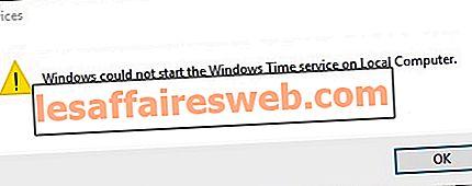 Исправить не работает служба времени Windows