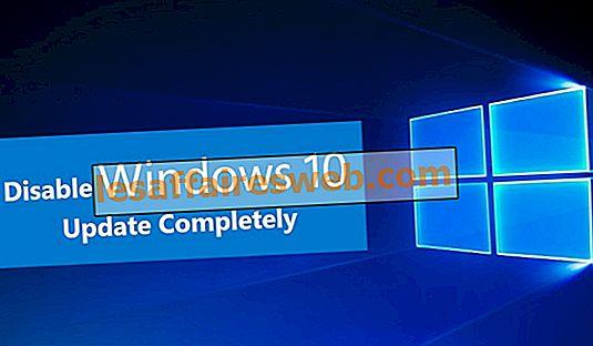 Beenden Sie das Windows 10-Update vollständig