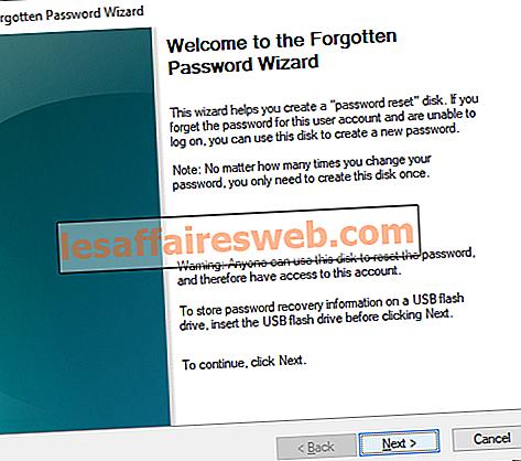 Comment créer un disque de réinitialisation de mot de passe dans Windows 10
