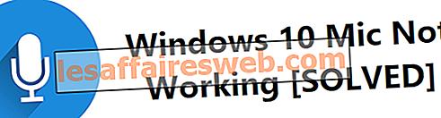 Windows 10マイクが機能しない問題を修正する方法?