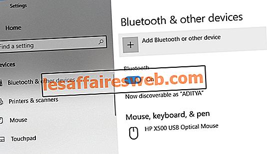 Cara Menghubungkan Perangkat Bluetooth pada Windows 10