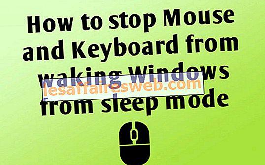 Comment empêcher la souris et le clavier de réveiller Windows du mode veille