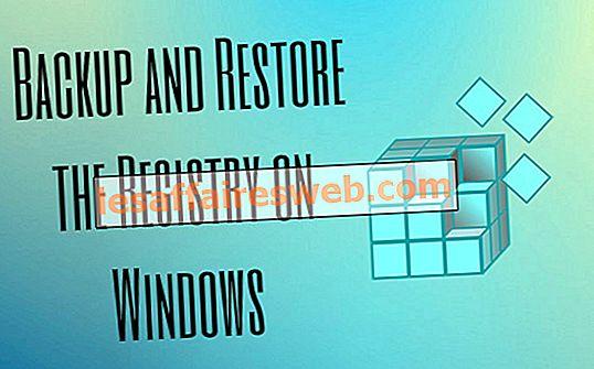 Comment sauvegarder et restaurer le registre sous Windows