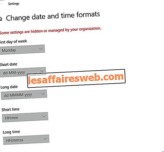 Autoriser ou empêcher les utilisateurs de modifier la date et l'heure dans Windows 10