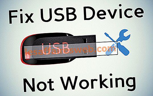 Perbaiki Perangkat USB Tidak Bekerja di Windows 10